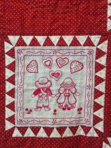 Colcha patchwork Mari Carmen