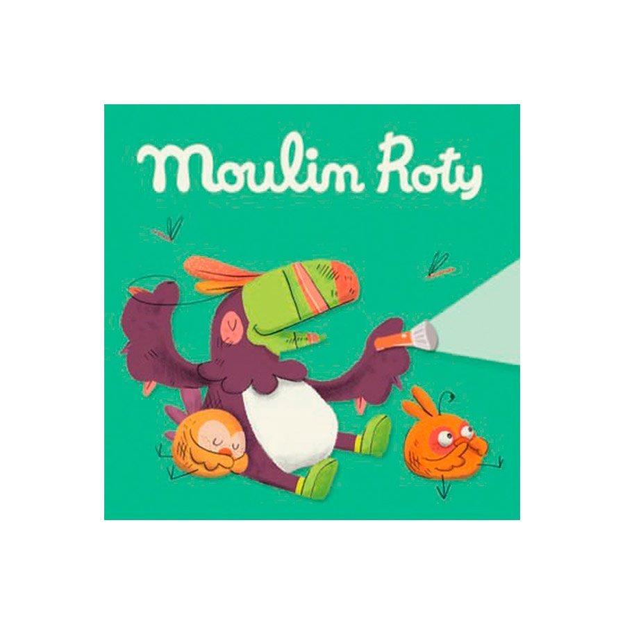 3 cuentos para linterna de la colección En la Jungla de Moulin Roty