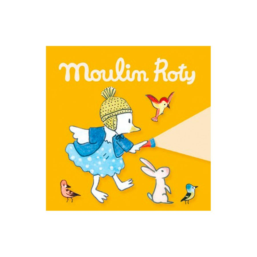 3 cuentos para linterna de la colección La gran familia de Moulin Roty