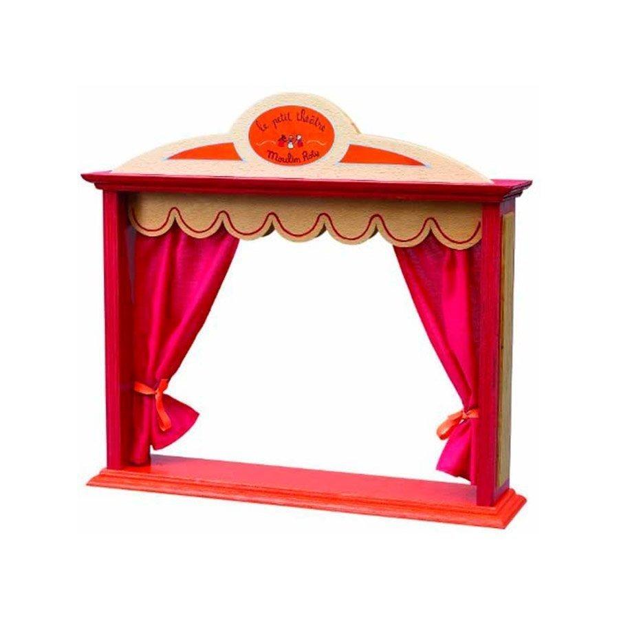El pequeño teatro de la colección La Gran Familia de Moulin Roty