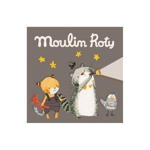 3 cuentos para linterna de la colección Les Moustaches de Moulin Roty