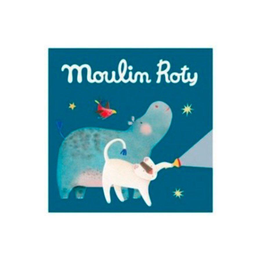 3 cuentos para linterna de la colección Los Papoum de Moulin Roty