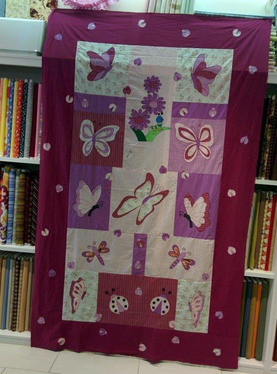 colcha bordado patchwork