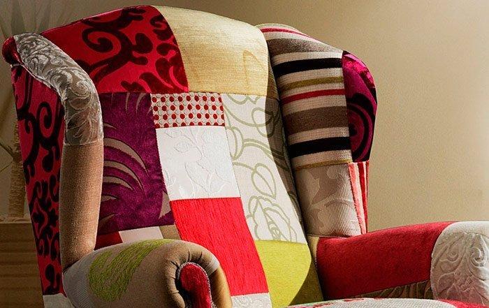 Sofás y sillones patchwork