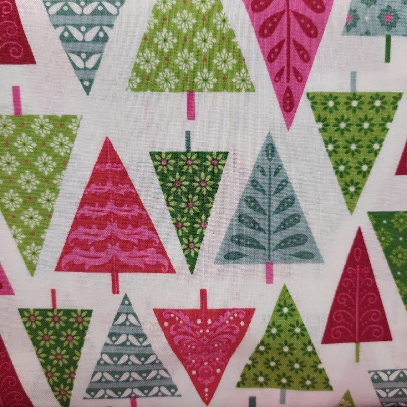 Tela MK-1136 Modern Christmas Trees