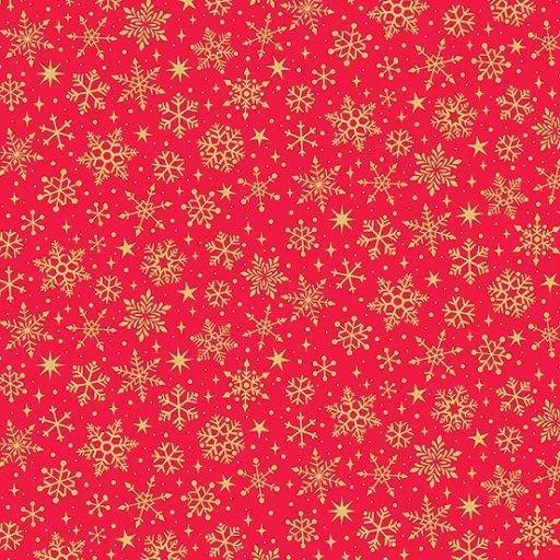 Tela MK2246-R Yuletide Snowflake