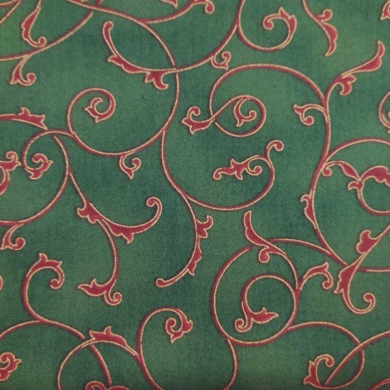 Tela MS-1936-GR Poinsettia