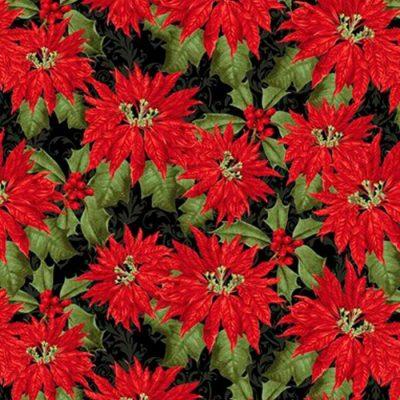 Tela BL-1065-99 Yuletide Botanica