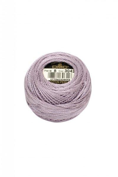 Ovillo coton perlé Nº8 DMC 3042