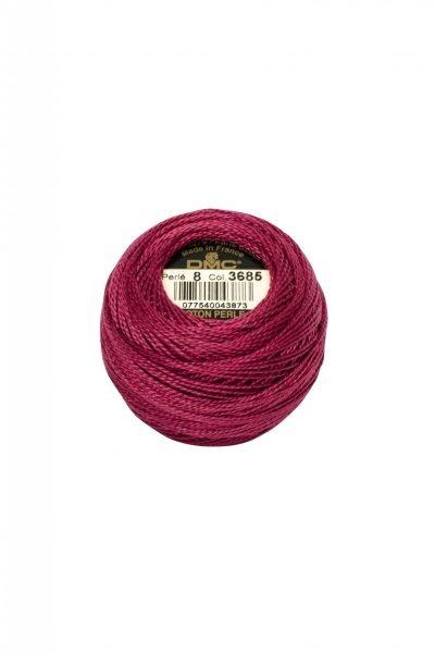 Ovillo coton perlé Nº8 DMC 3685