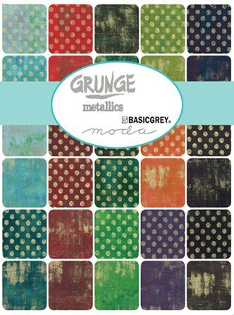 Grunge Metallic by Moda Fabrics